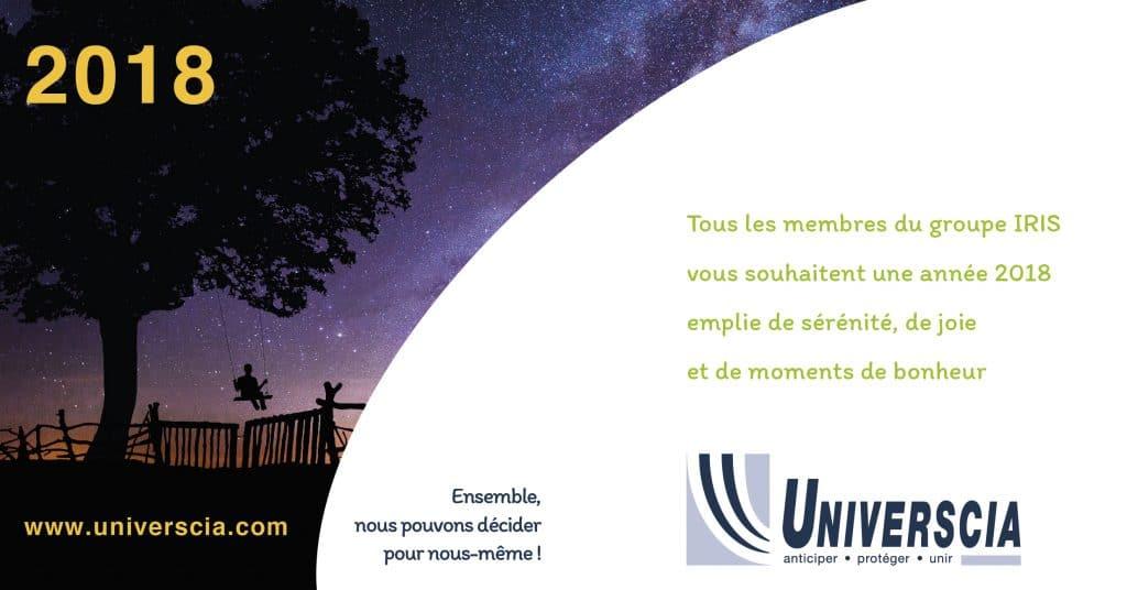 universcia voeux 2018
